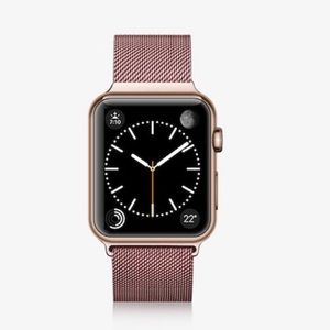 Accessories - For Apple Watch Rose Gold Milanese Loop Band,38mm